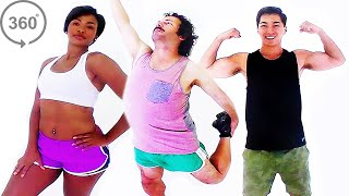 7 Bodies That Weigh 165 Pounds (360 Video)