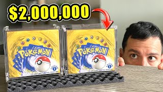 *$2,000,000 IN POKEMON CARDS!* My Top 10 Rarest Items