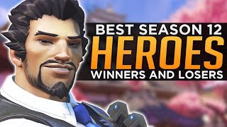 Overwatch: BEST and WORST Heroes Season 12 - Meta Discussion - YouTube