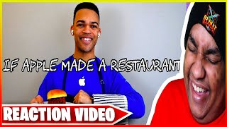 [Kyle Exum Reaction] If Apple Made a Restaurant Reaction