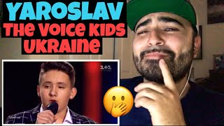 Reacting to 13-Year-Old Yaroslav has LOWEST VOICE On the Voice Kids Ukraine