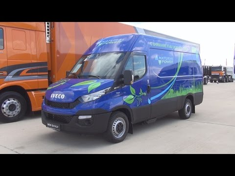 Iveco Daily 35 S 14 V CNG (2016) Exterior and Interior in 3D