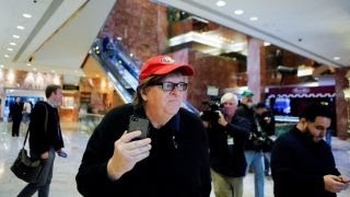 Will Michael Moore successfully disrupt the inauguration?