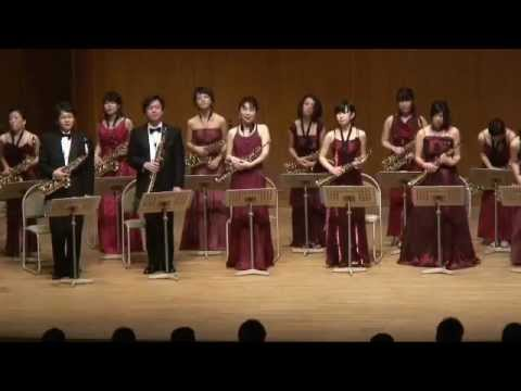 Ravel Bolero Mi-Bemol Saxophone Ensemble