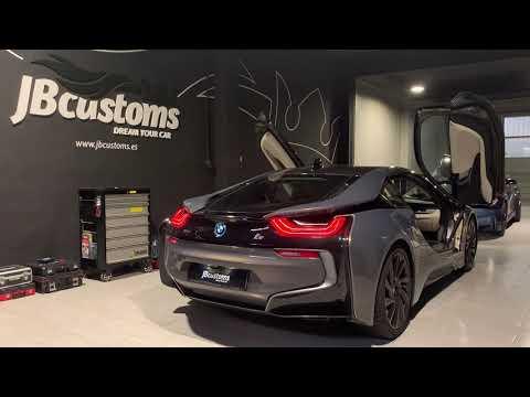 BMW i8 Híbrido con nuestro sistema completo JB Customs