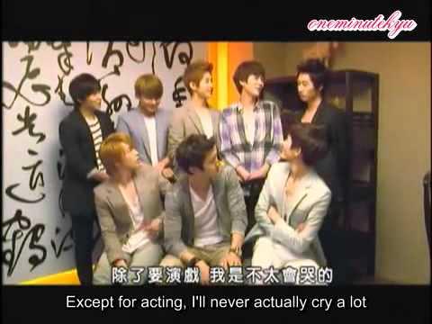 ENGSUB Kyuhyun's never an easy crier