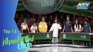 HTV NHANH NHƯ CHỚP | Nam Thư trở lại đầy bản lĩnh giành 20 triệu | NNC #13 FULL | 30/6/2018
