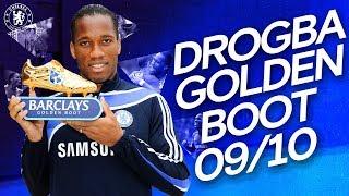 Didier Drogba's Golden Boot Winning Season   All 29 Goals   Premier League 2009/10