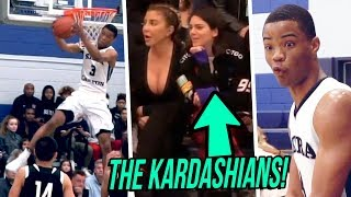Cassius Stanley SHOWS OUT In Front Of KARDASHIANS! Sierra Canyon VS Foothills Christ STATE PLAYOFFS