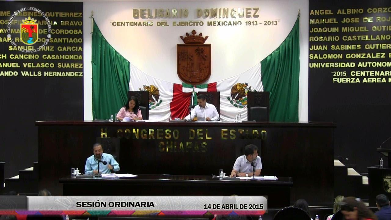 Sesión Ordinaria 14 de Abril de 2015