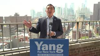 Andrew Yang addresses New York City's affordable housing crisis