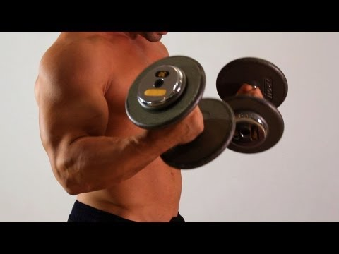 How to Do a Dumbbell Biceps Curl | Arm Workout