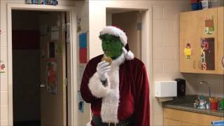 The Grinch invades Woodlawn Elementary!