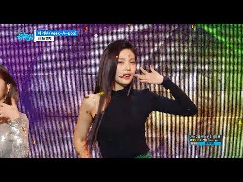 【TVPP】 Red Velvet - 'Peek-A-Boo',레드벨벳 - 피카부@Show Music Core