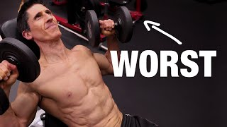 Chest Exercises Ranked (BEST TO WORST!)