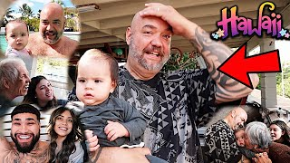 BABY AVAYAH MEETS HER FAMILY FOR THE FIRST TIME!!! (HAWAII VLOG)