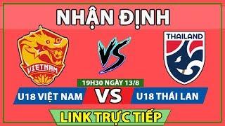 Nhận định bóng đá - Trực tiếp U18 Việt Nam vs U18 Thái Lan - U18 Đông Nam Á