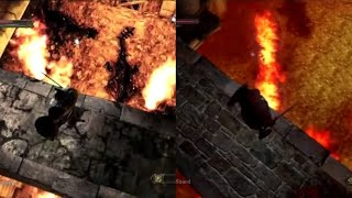 Dark Souls 2 - April 2013 Vs Retail Lighting and Graphics Comparison