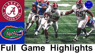 #1 Alabama vs #7 Florida Highlights | 2020 SEC Championship Game | 2020 College Football Highlights