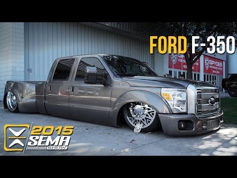 SEMA 2015   Ford F-350   Jason Mathewes
