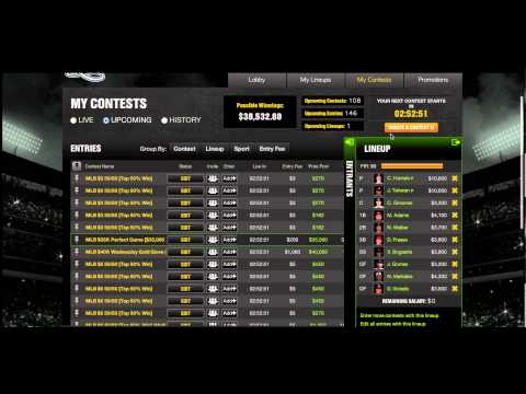 DK My Contests Walkthrough