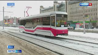 Новый трамвай «Спектр» сегодня впервые вышел в рейс