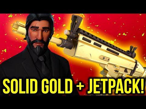 SOLID GOLD OCH JETPACK STREAM!!! 🔥  - LIVE FORTNITE SVENSKA
