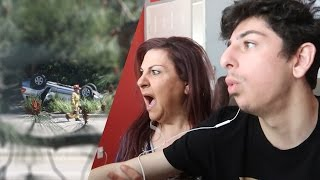 WE WITNESSED A TERRIFYING CAR ACCIDENT.. (CAUGHT ON CAMERA) | FaZe Rug