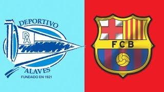 ALAVES VS BARCELONA EN VIVO