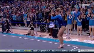 Pauline Tratz 2018 Floor vs SJSU 9.775