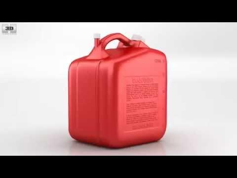 Fuel Tank 3d Model Can Fuel Tank 3d Model by