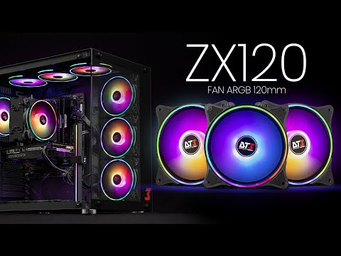 Fan ARGB ZX120 - DT3sports | O poder das cores