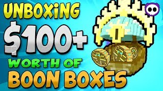 UNBOXING OVER $100 of PIRIFARIO'S BOON 2017 in TROVE! ✪ 70 Pirifario's Boon 2017 Unbox - Karma x1