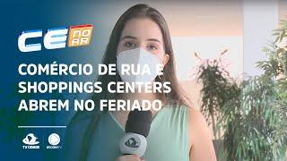Comércio de rua e shoppings centers abrem no feriado de Tiradentes