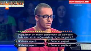Kim Milyoner Olmak Ister 263. bölüm Utku Mutluyakalı 23.09.2013