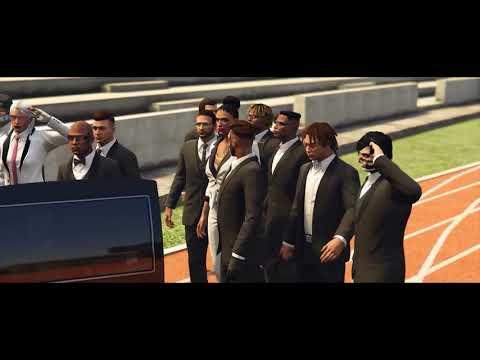 GTA 5 Online Car Meet - XXXTentacion Tribute Meet