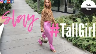 Tall Women Shop &Other Stories Try On Haul | How To Style Leopard Print Look Book | Tall Girl Slay