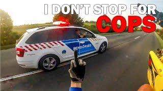CRAZY POLICE GETAWAY    COOL & ANGRY COPS vs BIKERS   [Episode 78]