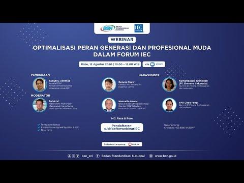 https://youtu.be/yladqEIx21UOptimalisasi Peran Profesional Muda dalam Forum IEC