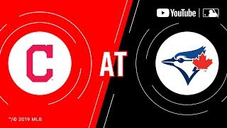 Indians at Blue Jays | MLB Game of the Week Live on YouTube