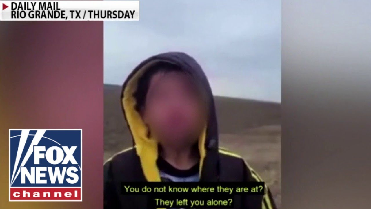 'The Five' react to 'disturbing' video of abandoned migrant child
