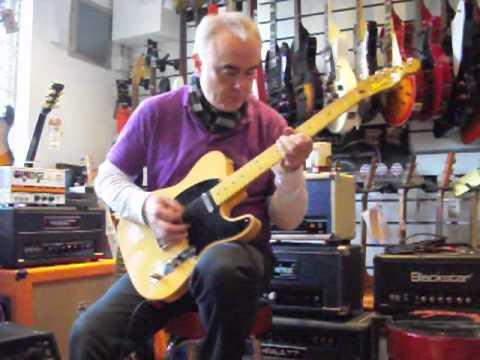 Fender Squier Classic Vibe 50s Telecaster Demo