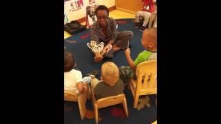 Mrs. Cats toddler circle time