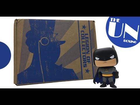 Batman: The Animated Series | Legion of Collectors July 2017 - THE UN BOXING