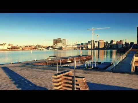 Kebony Hardwood Decking | Sørenga Harbor Pool, Oslo, Norway
