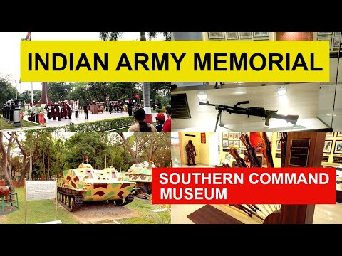 National War Memorial Pune - Southern Command Museum 2021