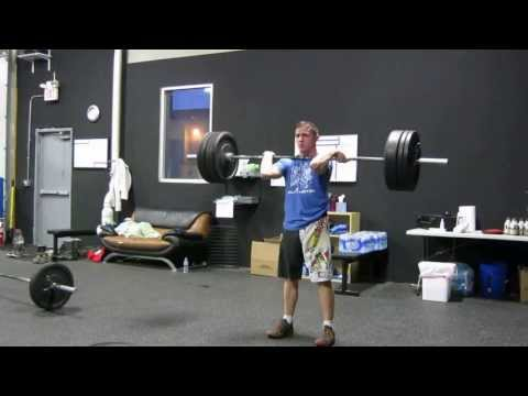 Shawn: 175lbs Clean and Jerk