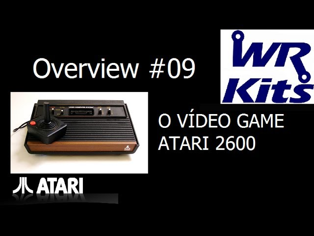 O VÍDEO GAME ATARI 2600 - Overview #09