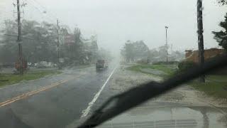 Driving Around (Working) in Hurricane Florence