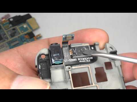 Galaxy Gio GT-S5660 Disassembly & Assembly - Screen & Case Replacement - Smashpipe Style